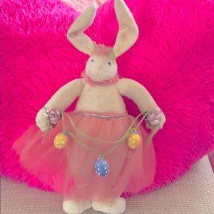 Plush Display Easter Bunny